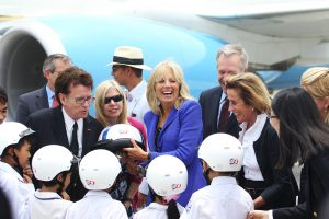 US Second Lady Jill Biden visiting Vietnam