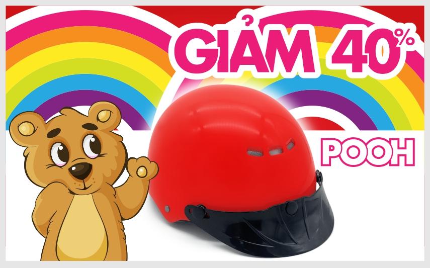 Chương trình giảm giá lên tới 40% cho dòng mũ mới Pooh