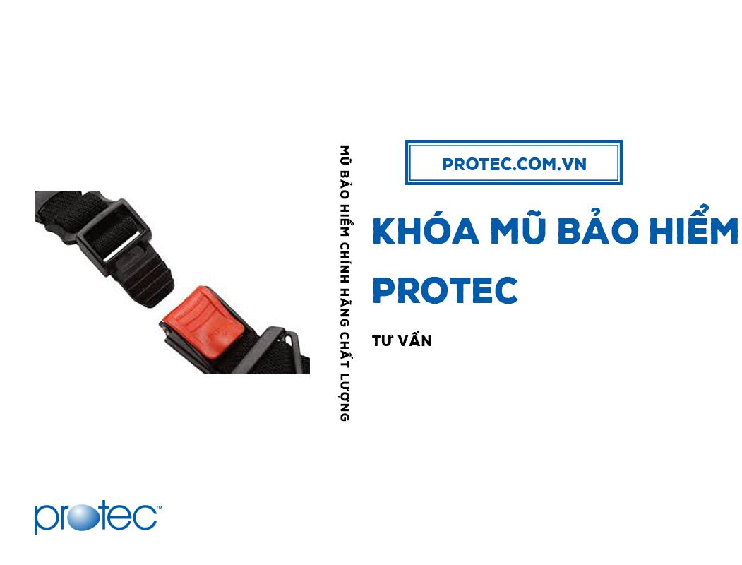 Khóa mũ bảo hiểm Protec