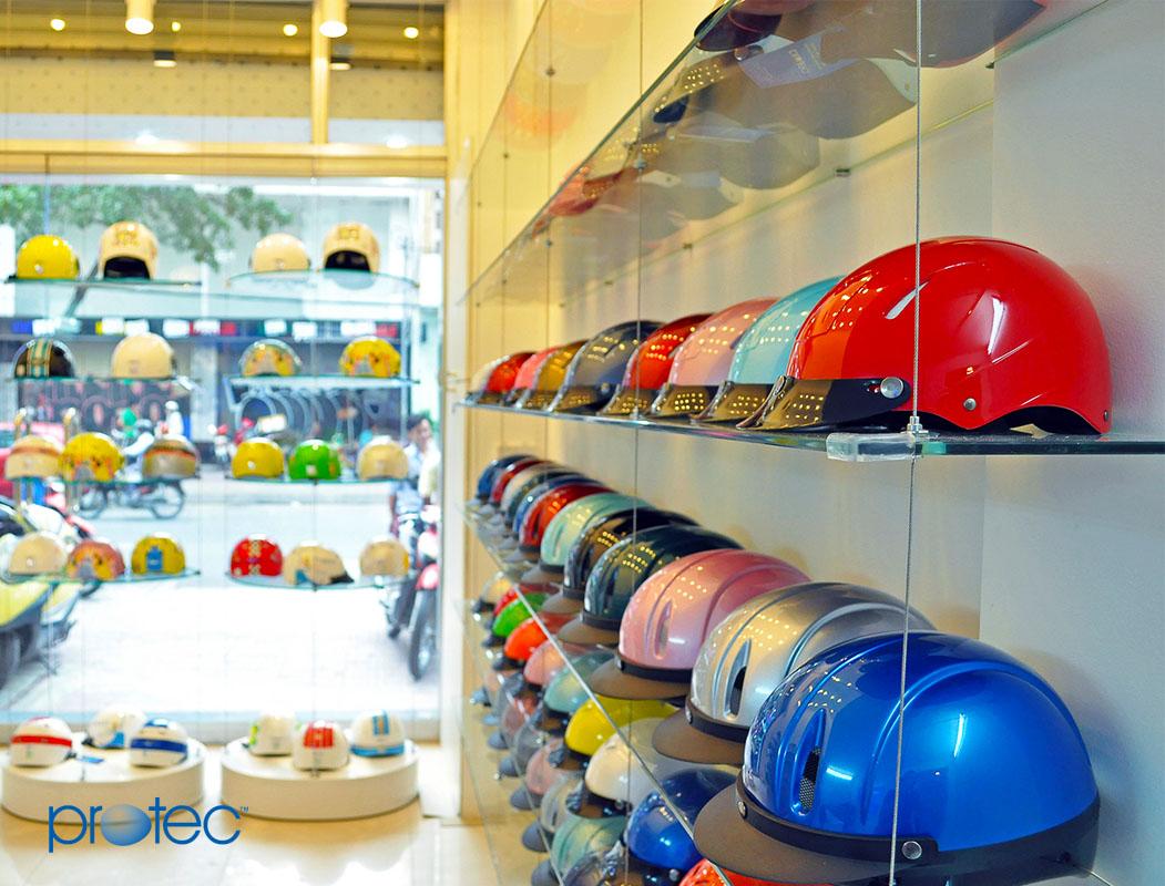 Cửa hàng mũ bảo hiểm chính hãng Protec Hồ Chí Minh