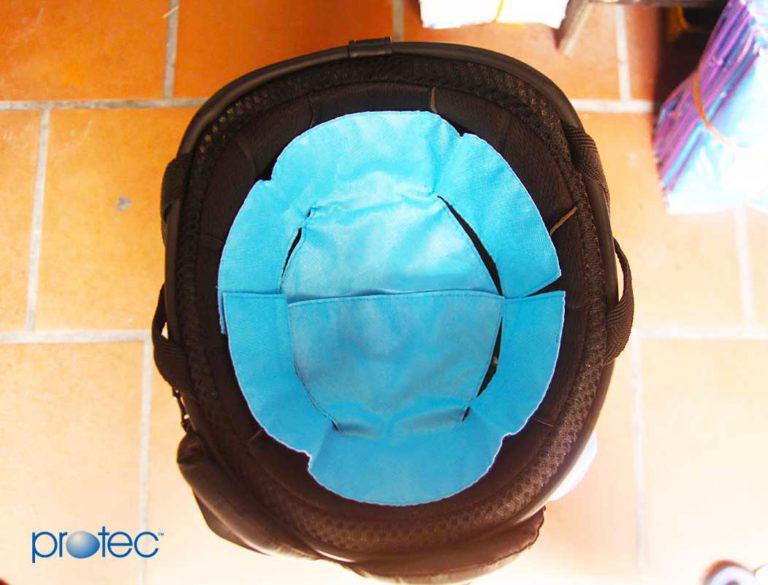 Miếng lót mũ bảo hiểm hai mảnh