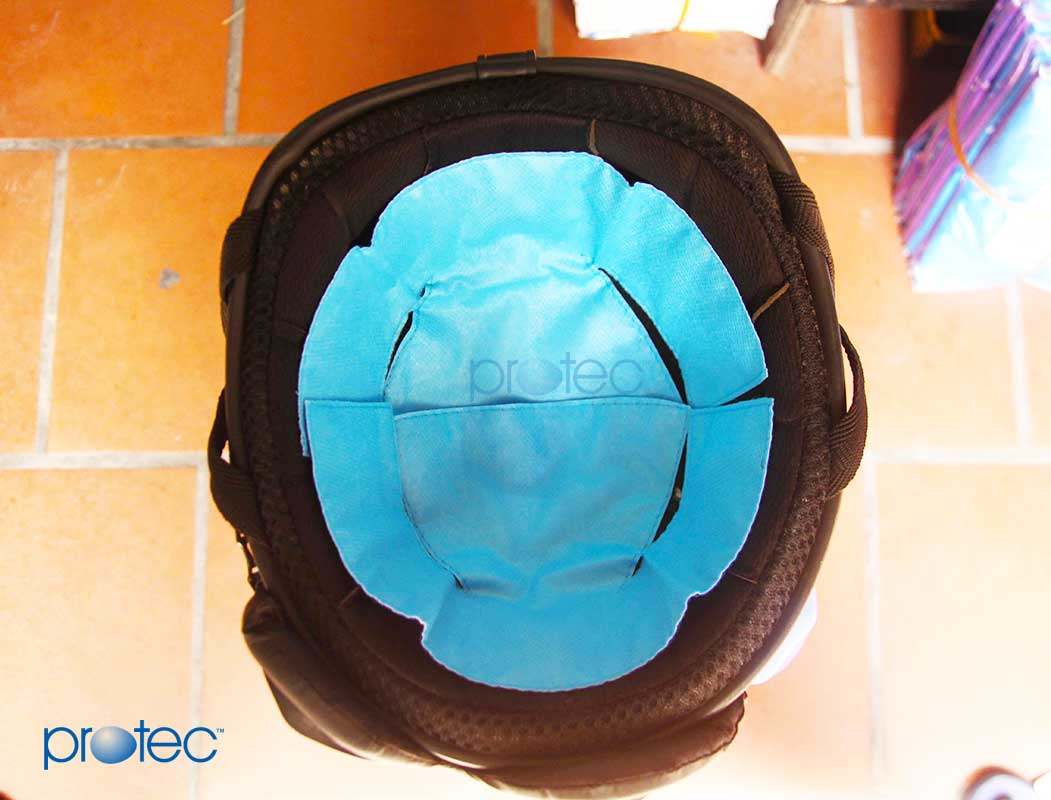 Miếng lót mũ bảo hiểm làm hai mảnh