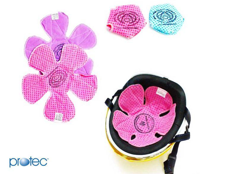 Miếng lót mũ bảo hiểm làm từ vải cotton