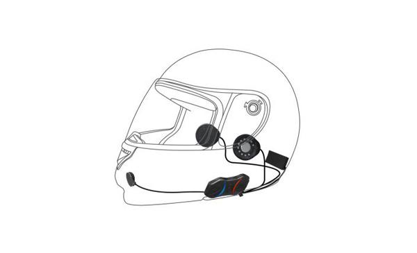 Mũ bảo hiểm có máy nghe nhạc