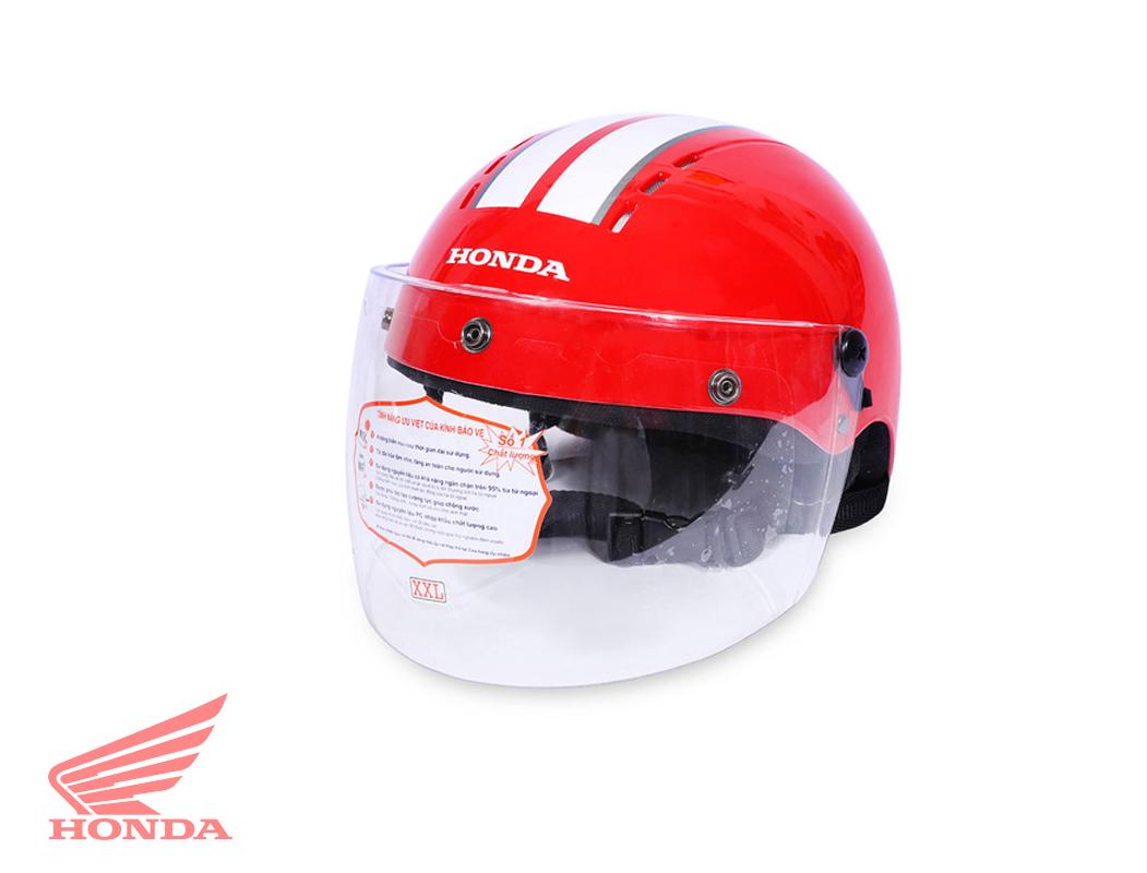 Mũ bảo hiểm đạt chuẩn của Honda