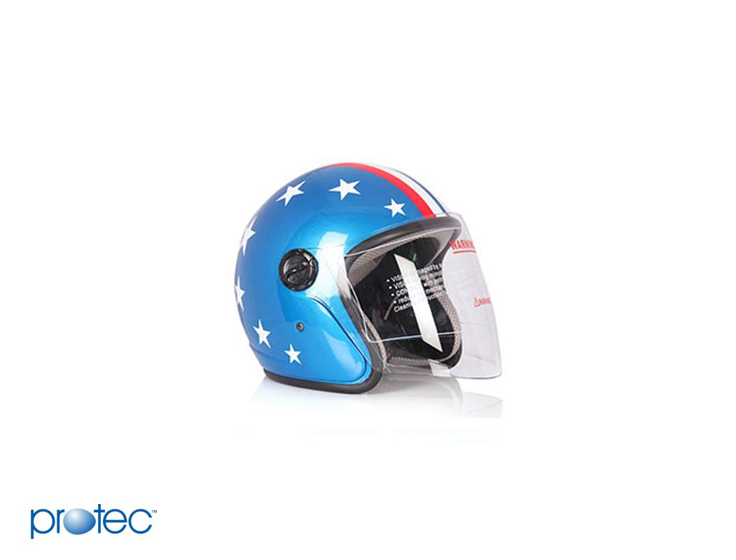 Mũ bảo hiểm Protec cặp Racing