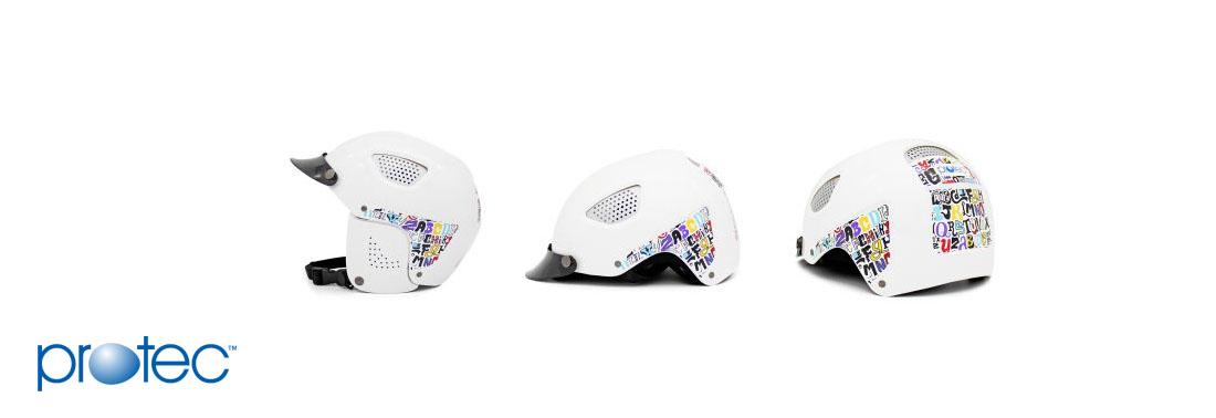 Mũ bảo hiểm 3/4 thời trang Cool bảng chữ cái