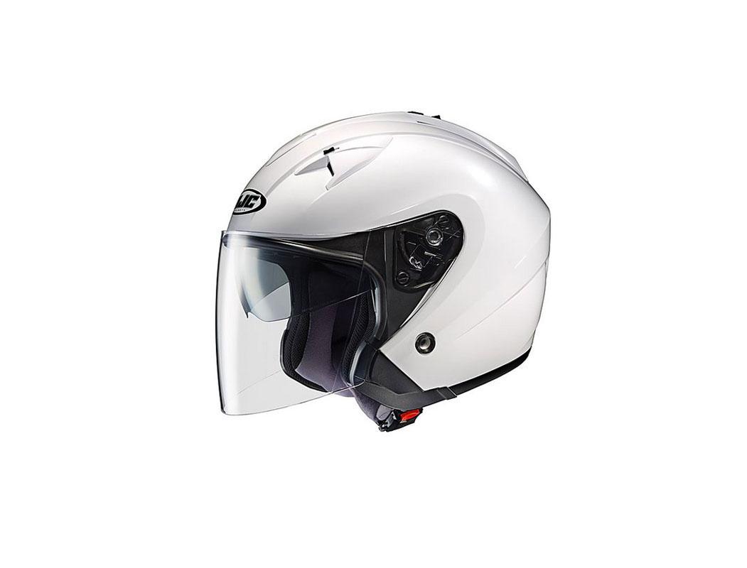 Mũ bảo hiểm 3/4 2 kính trắng Thái Lan