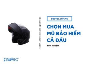 Kinh nghiệm chọn mua mũ bảo hiểm cả đầu cho người mới