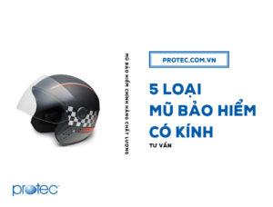 5 loại mũ bảo hiểm có kính đẹp – rẻ – thời trang