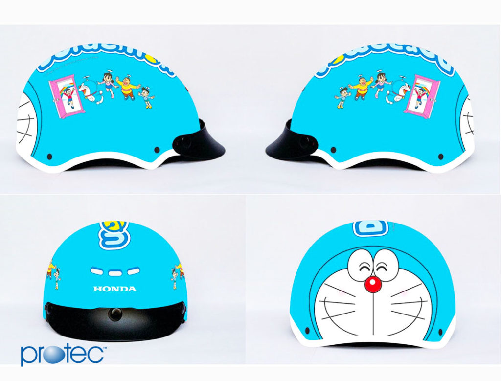 Mũ bảo hiểm Honda dành cho trẻ em Pooh