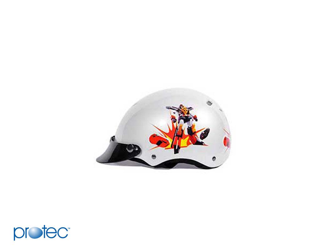 Mẫu mã, kiểu dáng của mũ bảo hiểm siêu nhẹ cho bé