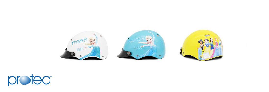 Mũ bảo hiểm thời trang trẻ em kitty
