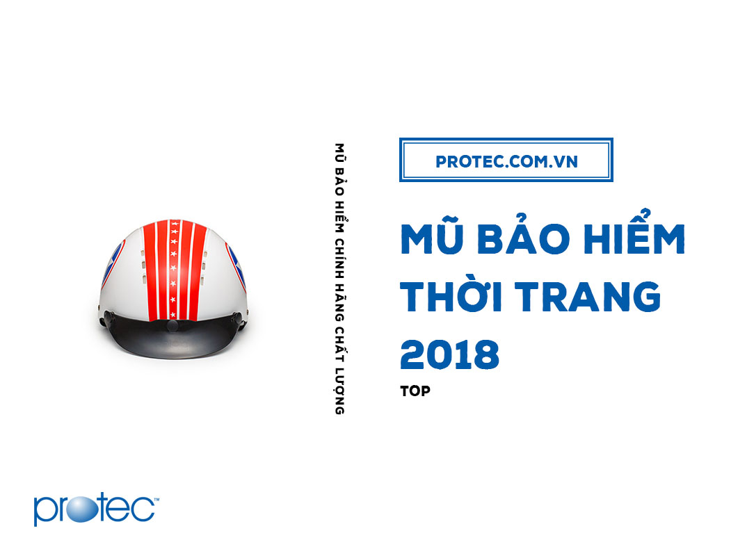 Mũ bảo hiểm thời trang 2018