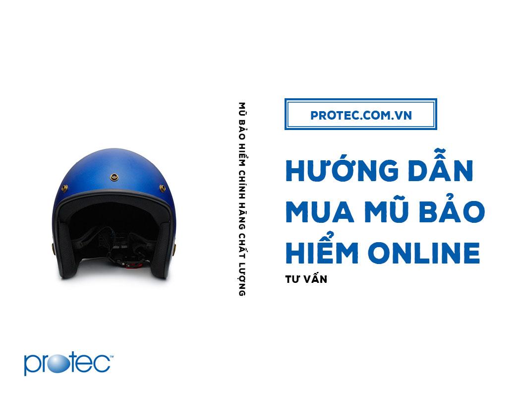 Hướng dẫn mua nón bảo hiểm online