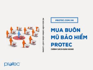 Chính sách mua buôn mũ bảo hiểm chính hãng Protec cho các đại lý