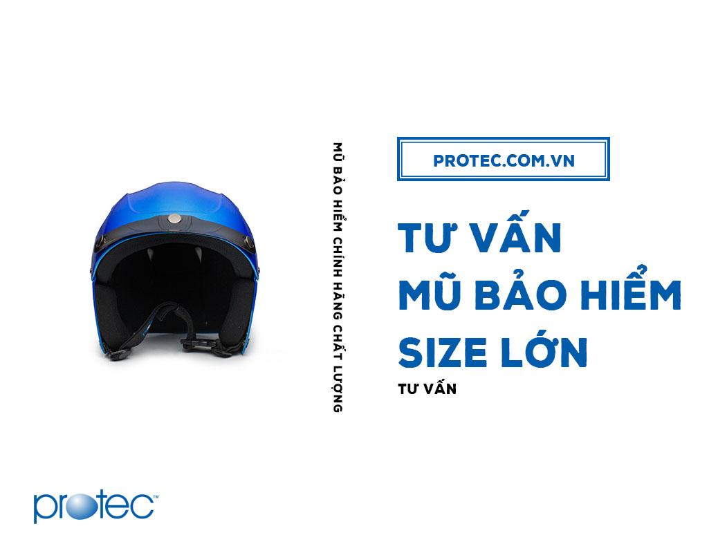 Bán mũ bảo hiểm size lớn