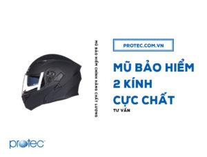 3 mẫu mũ bảo hiểm 2 lớp kính cực chất 2018