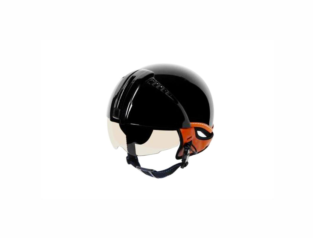 Mũ bảo hiểm nửa đầu dấu kính dạng tròn