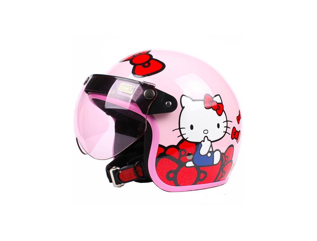 Mũ bảo hiểm trẻ em kitty