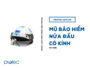 Top 5 mẫu mũ bảo hiểm nửa đầu có kính XU HƯỚNG MỚI
