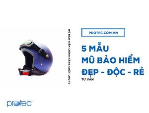 Top 5 mẫu mũ bảo hiểm ĐẸP chất lượng chính hãng 2019