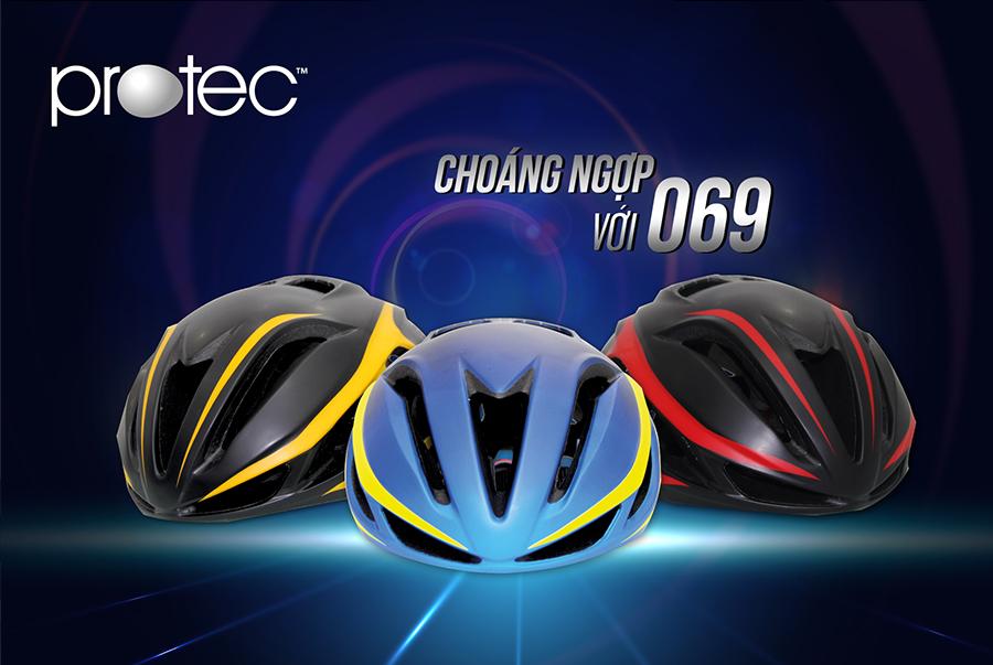 Mũ bảo hiểm xe đạp Protec 069