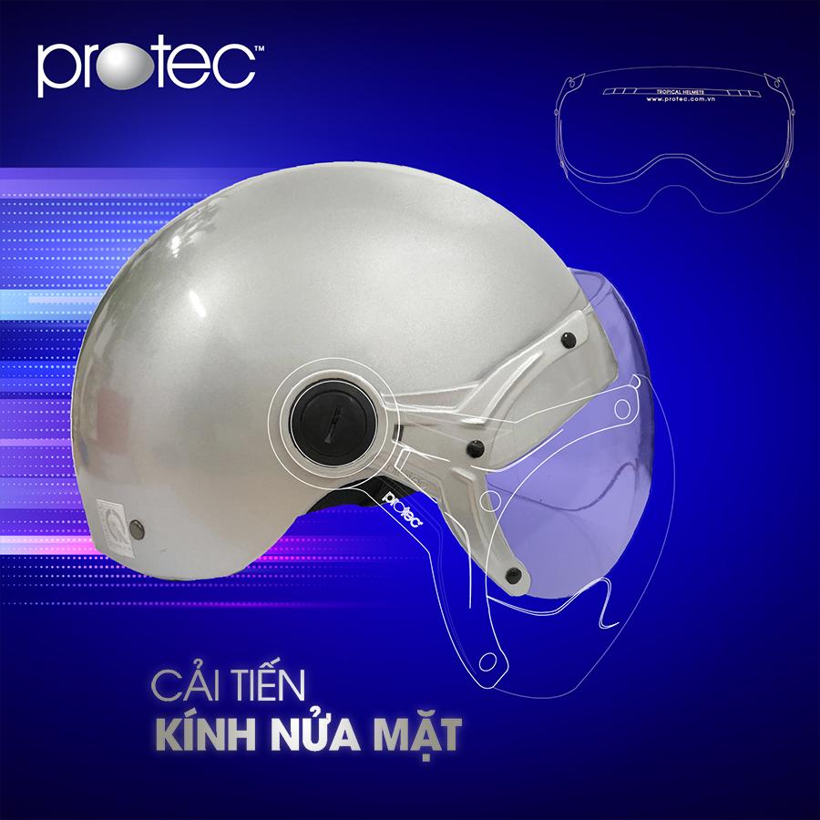 Kính mũ bảo hiểm Protec