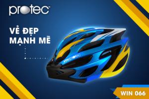 Mũ bảo hiểm xe đạp Protec Win 066 – Vẻ đẹp mạnh mẽ