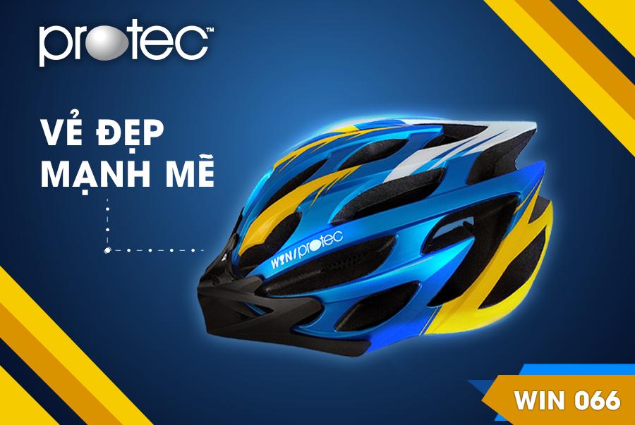 Mũ bảo hiểm xe đạp Protec Win 066