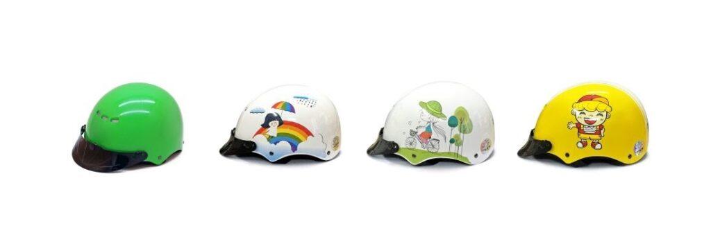 bán mũ bảo hiểm trẻ em