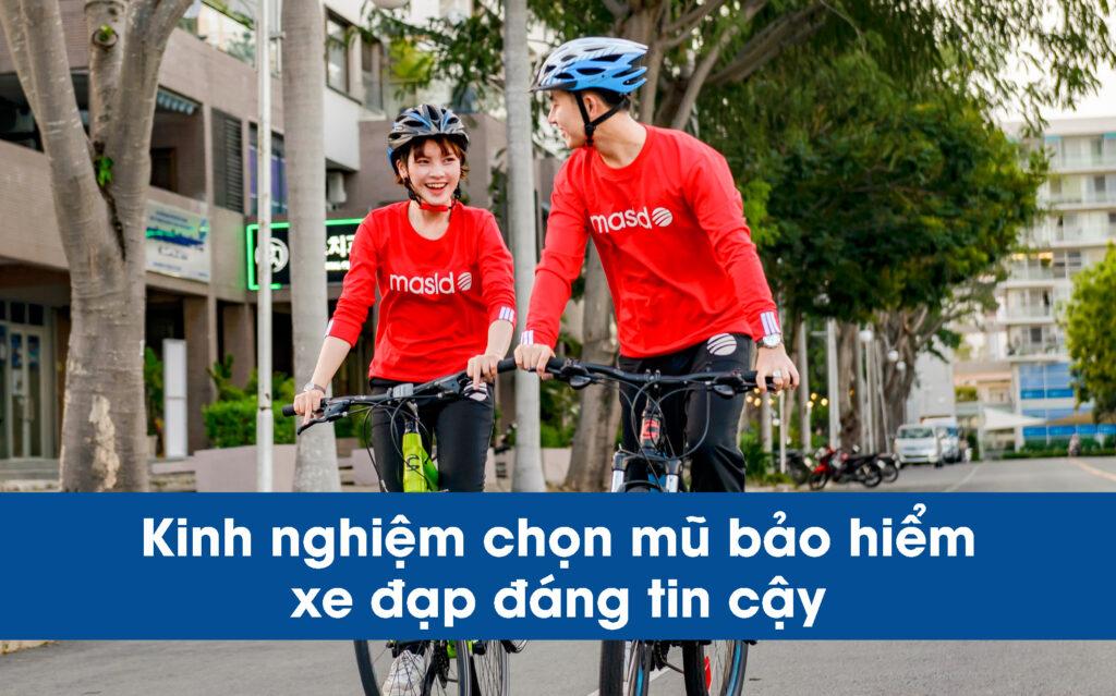 Kinh nghiệm chọn mũ bảo hiểm xe đạp đáng tin cậy