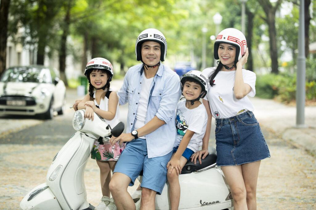 Thời trang nhưng vẫn an toàn với mũ bảo hiểm đẹp từ Protec