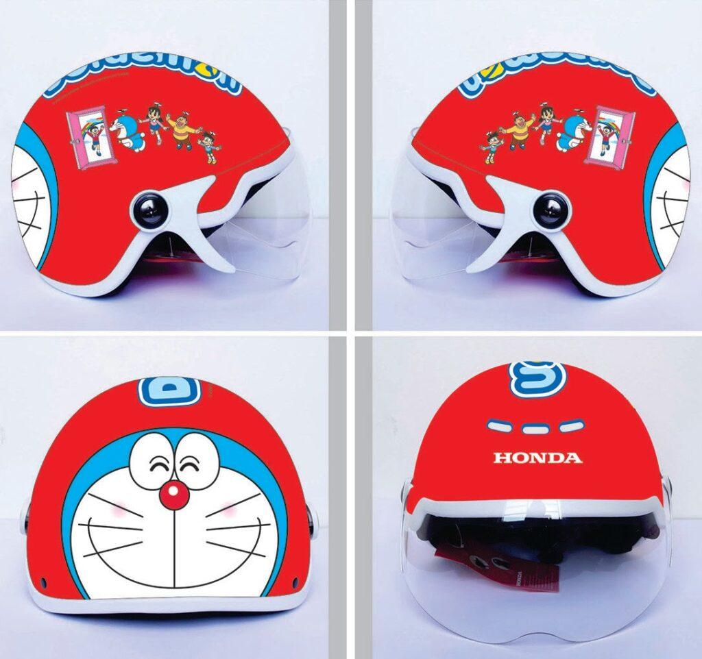 Mũ bảo hiểm nửa đầu có kính Protec Hiway