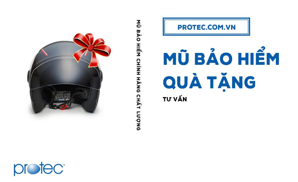 Mũ bảo hiểm quà tặng - mang thương hiệu đến gần hơn với khách hàng