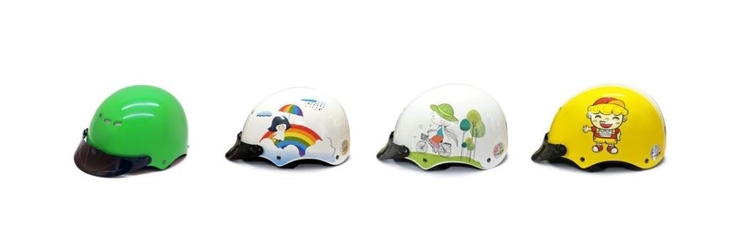 Top 6 mũ bảo hiểm trẻ em giá rẻ được phụ huynh tin tưởng lựa chọn