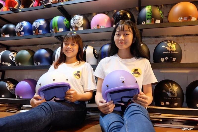Tổng hợp địa chỉ bán mũ bảo hiểm chính hãng tại TP.HCM