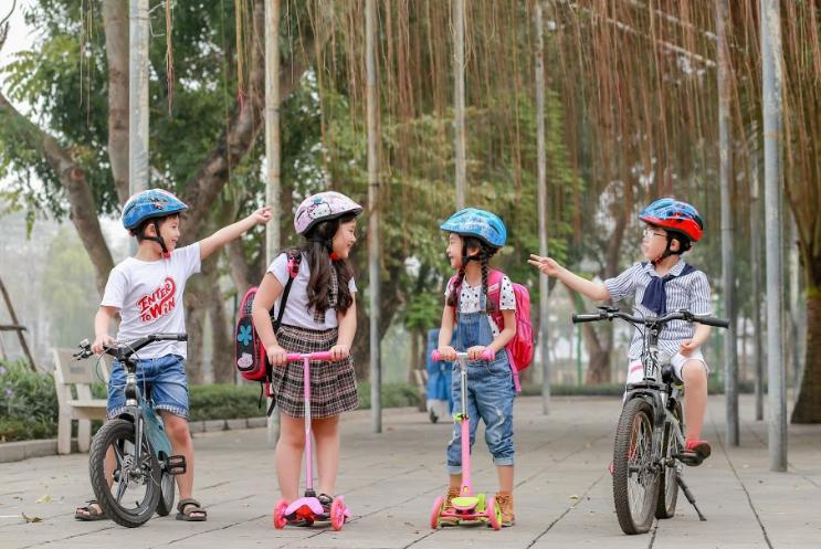 Vì sao nên cho bé đội mũ xe đạp trẻ em chính hãng?