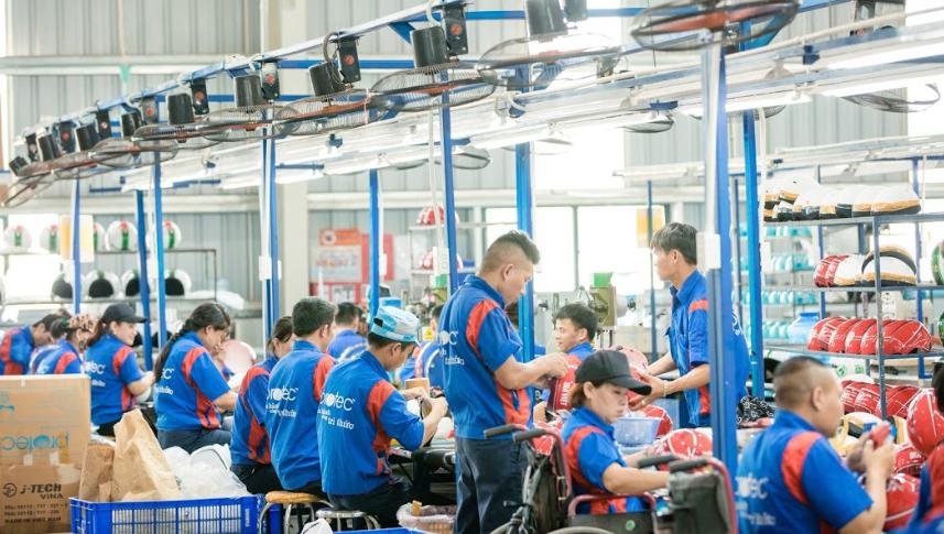 Địa chỉ xưởng sản xuất mũ bảo hiểm đảm bảo về chất lượng