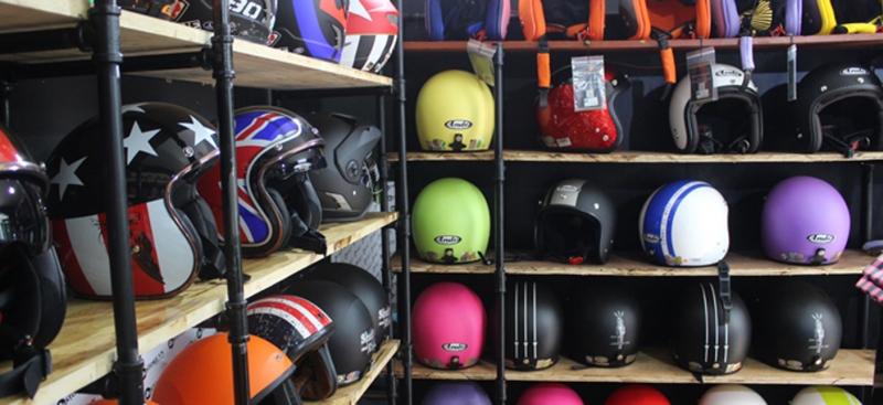 Top 5 cửa hàng mũ bảo hiểm chính hãng (tại tphcm)